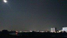 西河原夜景 全体
