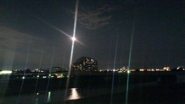 中秋の名月 - 多摩水道橋